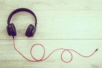 Kopfhörer Audio zum Hören