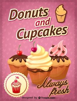 Kostenlos Cupcakes Design