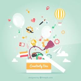 Kreativität Box