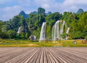 Landschaft Wasserfall