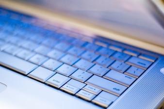 Laptop-Tastatur Detail