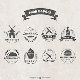 Lebensmittel Abzeichen