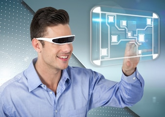 Licht Ausrüstung grau-Technologie ernst