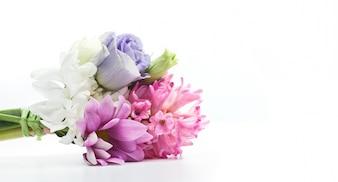 Lila Blumenstrauß