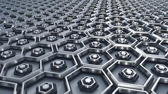 Lot von Hexagone