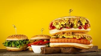 Mahlzeit Sauce Essen Essiggurke Hintergrund
