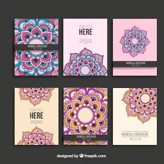 Mandala Broschüren