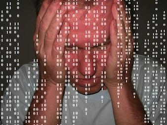 Mann Codeproblem binäre Verzweiflung ein null