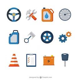 Mechanische Symbole