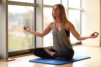 Meditation zen Lebensstil entspannen Lotus