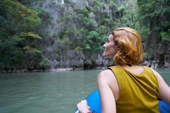 Meer Reiseziel Kanu Reise Tourismus