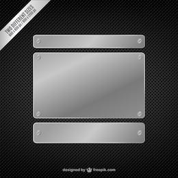 Metall Hintergrund Vektor