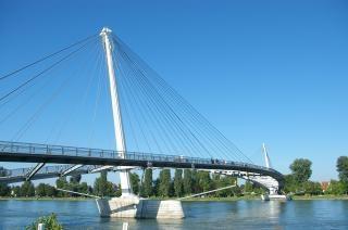 Mimram-Brücke, jardins