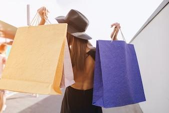 Mode Geschäft Einkaufen Erwachsenen halten