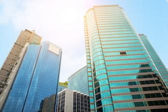 Moderne Bürogebäude in der Innenstadt