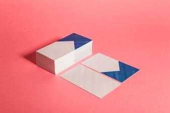Moderne Visitenkarte Präsentation Konzept