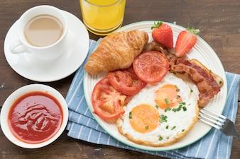 Nahrhaftes Frühstück