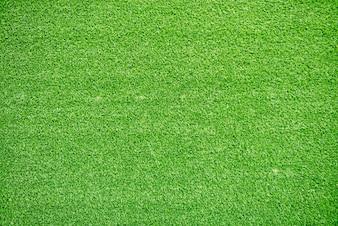 Natürliche Gras Textur gemusterten Hintergrund in Golfplatz Rasen aus Draufsicht: Abstrakt Hintergrund der authentischen grasbewachsenen Rasen Umwelt texturierte Muster Hintergrund in leuchtend gelben grünen Farbton