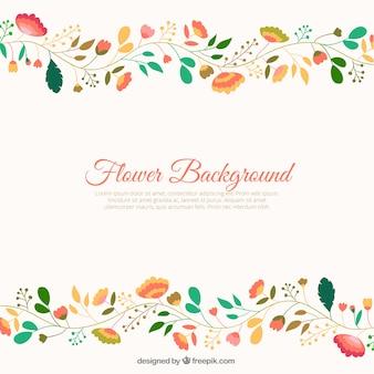 Nette Blumen Hintergrund