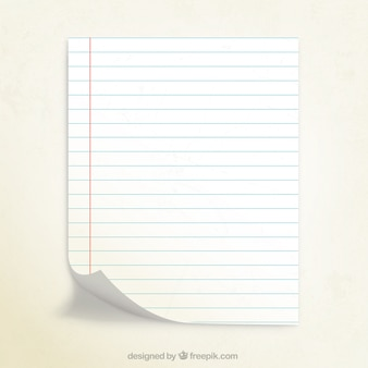 Notebook-Papier