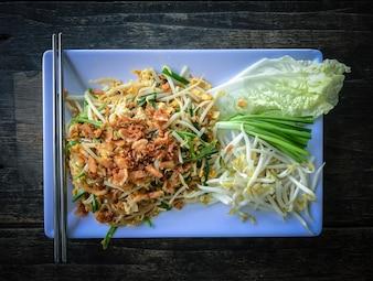 Pad Thai oder die Thai-Stil Nudel