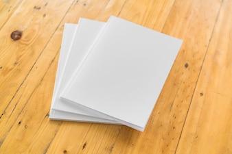 Papier weißes Medienblatt-Element