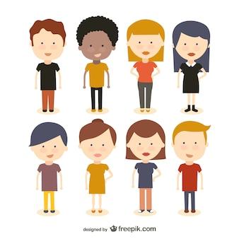 Personen und Gesichter