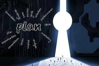 Plan für die Geschäftsentwicklung