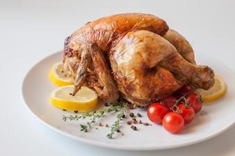 Pollo Gastronomie Essen lecker Huhn