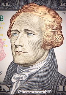 Porträt von Hamilton