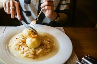 Potatoe Mahlzeit
