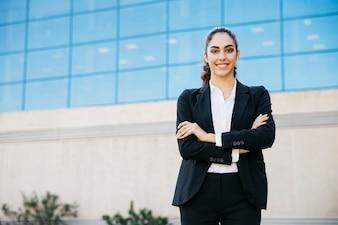 Professionelle Geschäftsfrau