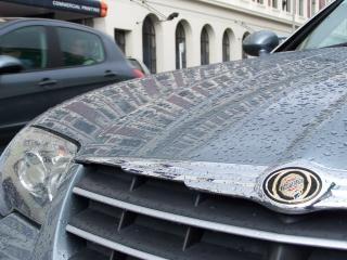 Regnete durchnässt Chrysler