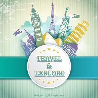 Reisen und entdecken
