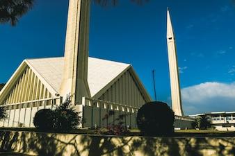 Religiöses Reiseziel glänzende Religionsabend