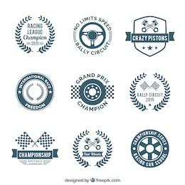 Rennen-Embleme