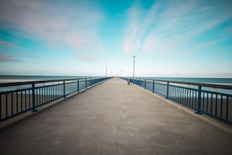 Resort Strand blau Spot Macht