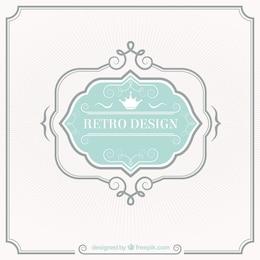 Retro-Label-Design