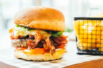 Rindfleisch Hamburger