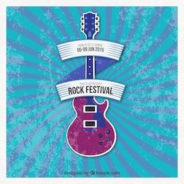 Rockfestival Plakat