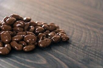 Rosinen mit Schokolade