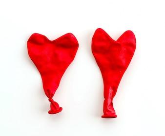 Rote Ballons