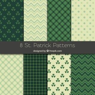 Sammlung von St Patrick Muster