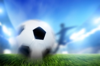 Schatten Kollision mit einem Ball