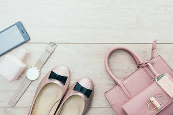 Schöne Casual Frau Mode-Set