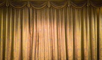 Schöne Vintage-Vorhang Hintergrund