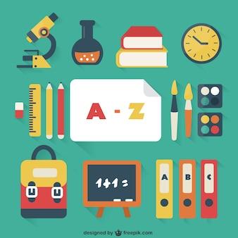 Schulsachen zu packen