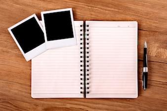 Schreiben auf dem Tagebuch