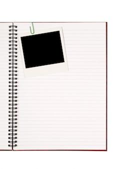 Schreiben Buch mit Foto