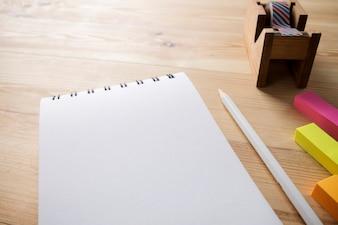Schreibtisch Holz Notebook Tisch Büro Hipster